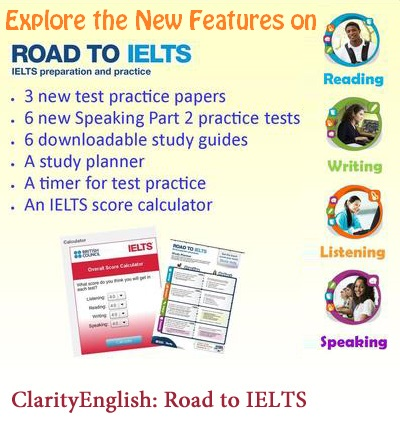 New Features on ROAD TO IELTS