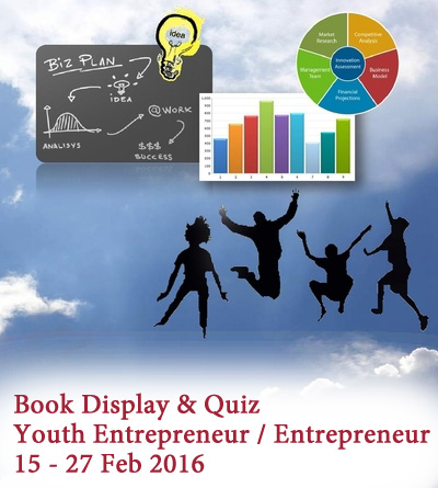Book Display: Youth Entrepreneur / Entrepreneur