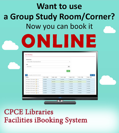 CPCE Libraries Facilities iBooking System
